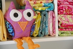 Owl on Shelf