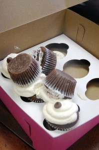 Spilled Cupcakes