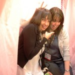 Kim and Sharon Hamming It Up in the Doodlebug Photo Booth!