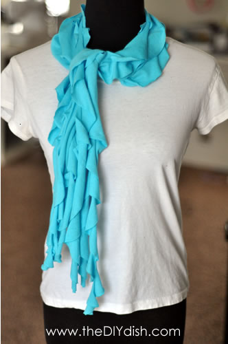 adventures of a momma in diy no sew scarf